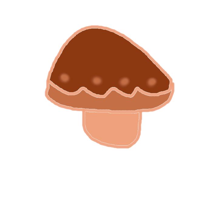 【キノコ】特定の菌類のうちで、比較的大型の子実体あるいは、担子器果そのものをいう俗称である。