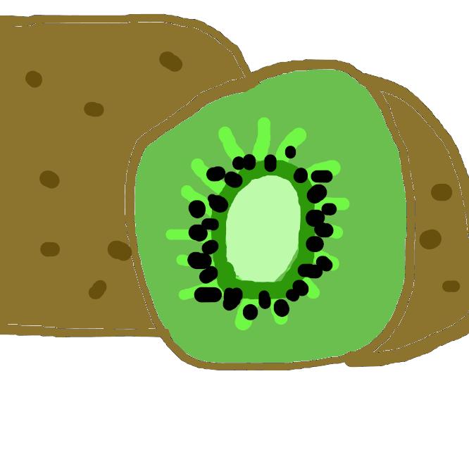 【キウイフルーツ】マタタビ科マタタビ属の雌雄異株の落葉蔓性植物の果実である。また、マタタビ属のActinidia deliciosaを指して特にキウイフルーツとも呼ぶ。