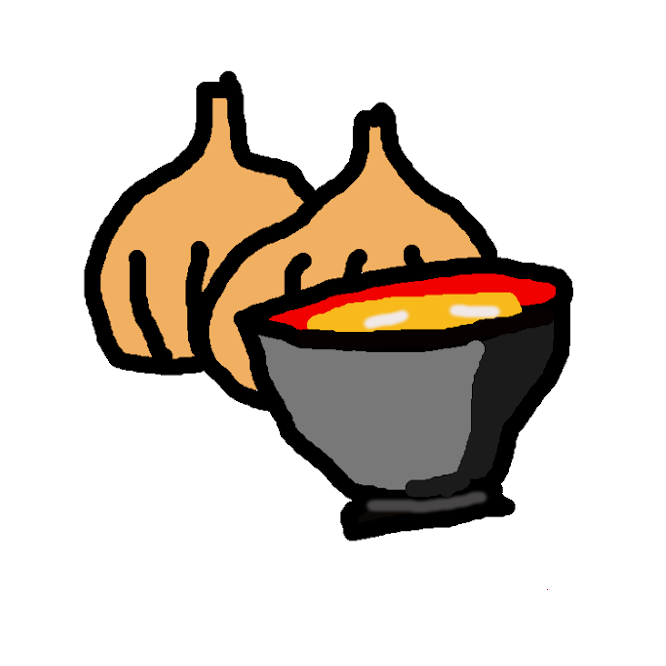 【味噌汁】日本料理における汁物の一つで、だしを味噌で調味した汁に、野菜や豆腐、麸や魚介類などの食品を実としたスープ様の料理である。御味御付ともいう。