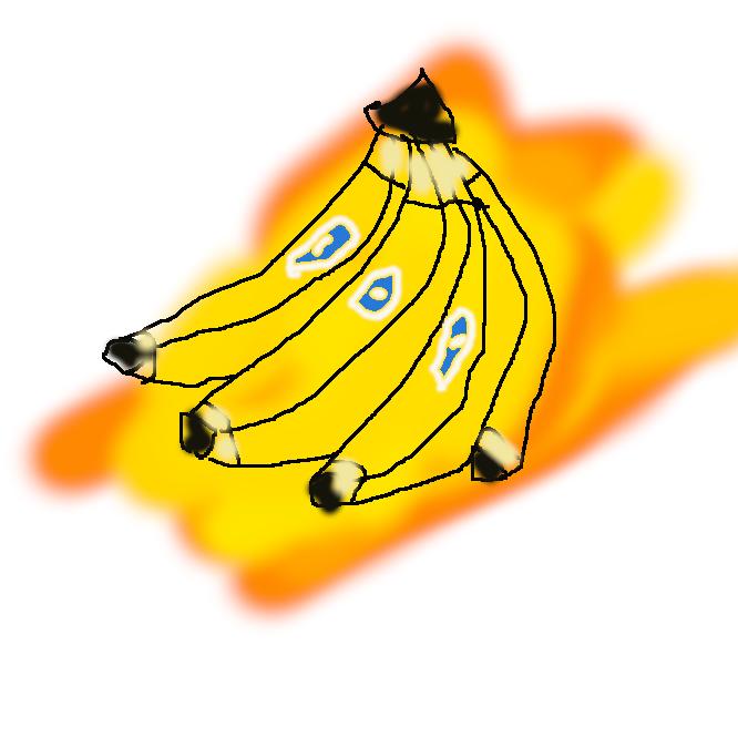 【banana】1 ばしょう科の多年生植物。熱帯アジア原産。葉はバショウの葉に似て巨大。初夏、淡黄色の穂状の花が咲く。果実は筒形グローブ状の房になってなる。熟すと黄色になり、食用。種子がなく、果肉はでんぷんを多く含み柔らかで甘く、かおりがよい。<br>2 コンゴ民主共和国西部,コンゴ川河口にある港町。大西洋に臨み,19世紀には奴隷貿易の港として栄えた。今日ではマタディが第1の貿易港になっているが,大型船の航行不能と渋滞のため,バナナ港を本格的に整備し,マタディと鉄道で連絡させる計画がある。
