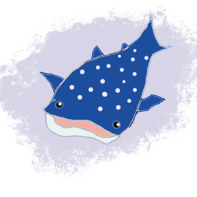 ネズミザメ目ジンベイザメ科の海産魚(イラスト)。ジンベエザメともいう。全世界の熱帯から温帯にかけての外洋域に分布する。日本近海には初夏に暖流にのってカツオとともに北上してくる。