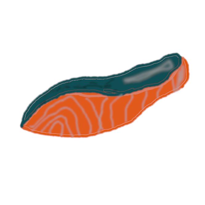 【鮭】サケ目サケ科の海水魚。全長約1メートル。体は長い紡錘形で側扁し、尾びれ近くに脂びれがある。背側は暗青色、腹側は銀白色。北太平洋を広く回遊し、河川に上って産卵する。肉は淡紅色で美味。卵は筋子・イクラとして賞味される。