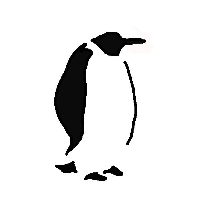 ペンギン科の海鳥の総称。多くは南極地方に住み、体長〇・五〜一メートル。頭部は青黒く、足・翼が短い。陸上では白い腹をみせて直立し、水中では翼を使って泳ぐが、空は飛べない。