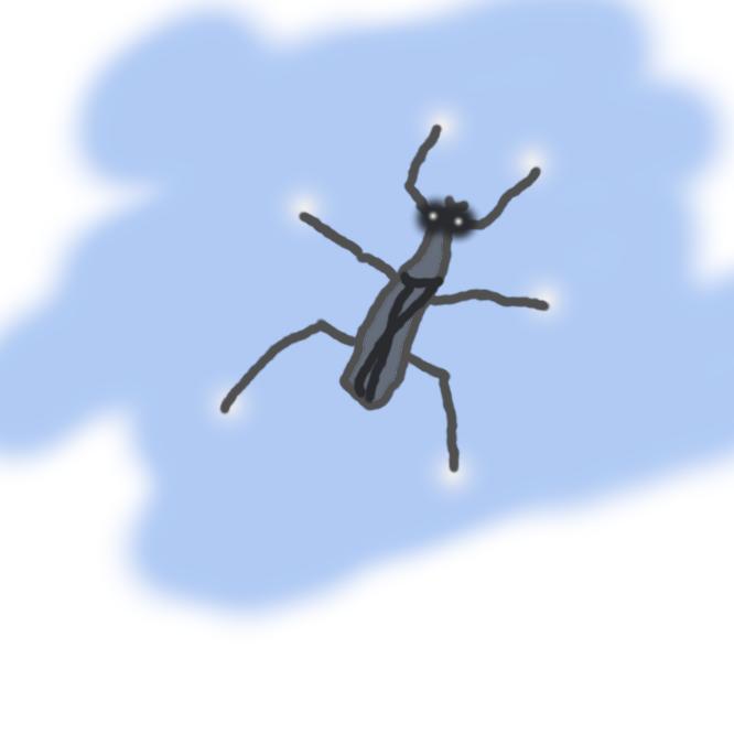 半翅(はんし)目アメンボ科の昆虫。中脚と後脚が体長より長い。池などの水面を滑走し、水面に落ちた昆虫を捕食する。体は飴(あめ)のにおいがする。