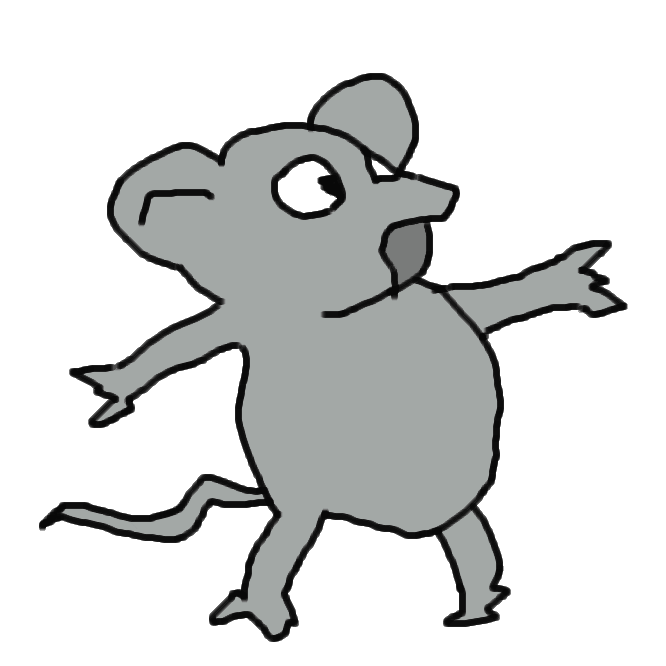 【鼠】齧歯(げっし)目ネズミ科の哺乳類の総称。一般に小形で、体毛は灰色・黒褐色で尾は細長い。犬歯はなく、一対の門歯が発達し一生伸び続ける。繁殖力は旺盛だが、寿命は短い。農作物・貯蔵穀物などに甚大な損害を与え、また病気を媒介する。