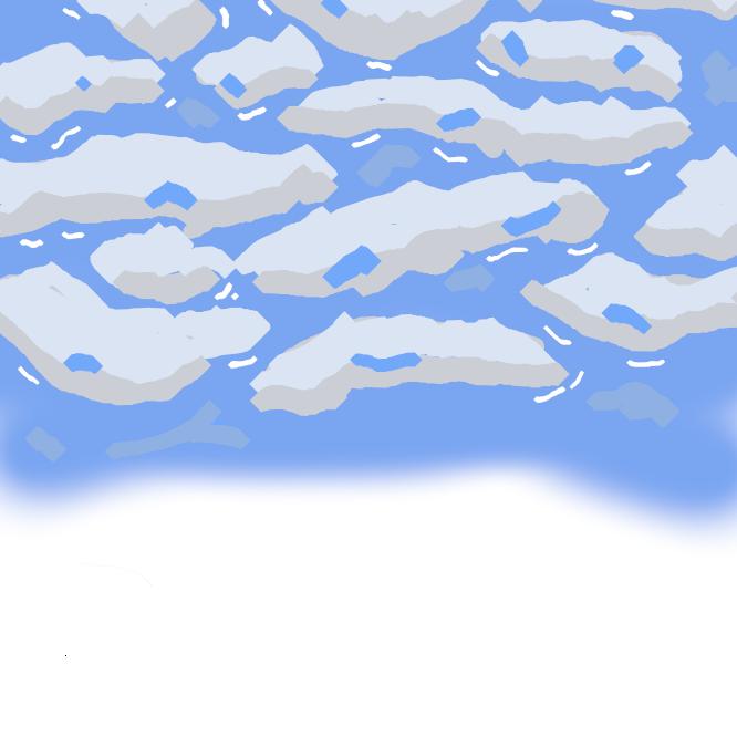 【流氷】寒帯地方で氷結した海水が風や波のために砕かれて氷塊となり、凍っていない海へ漂流してくるもの。北海道のオホーツク海沿岸では1月中旬~4月中旬ごろ見られる。
