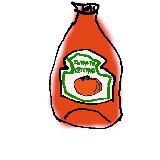 野菜を煮て裏ごしにかけ、調味料・香辛料を加えた洋食用のソース。特に、トマトケチャップをさすことが多い。