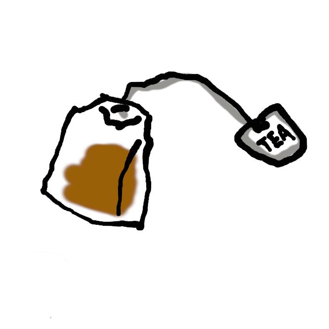 紅茶・緑茶などの葉を1杯分あるいは数杯分ずつ薄い紙の袋に詰めたもの。そのまま熱湯に浸して用いる。