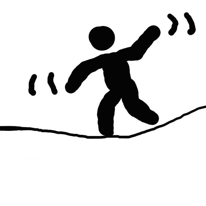 【落ちない】タ行上一段活用の動詞「落ちる」の未然形である「落ち」に、打消の助動詞「ない」が付いた形。
