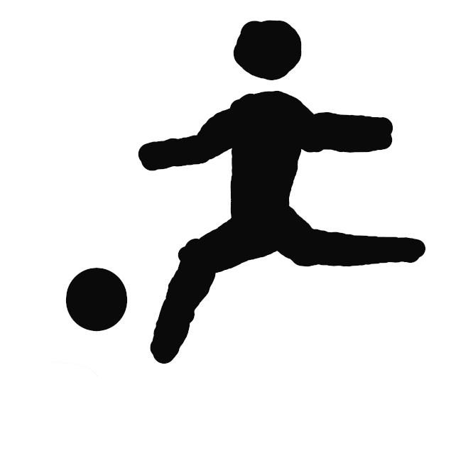 1チーム11人からなる二組みが、ゴールキーパー以外は手を使わず、主として足でボールを扱いながら相手のゴールにボールを入れて得点を競い合う競技。蹴球。ア式蹴球。