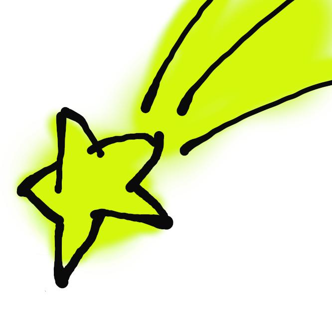 【流れ星】宇宙塵(うちゅうじん)が地球の大気中に高速で突入し、発光する現象。高度100キロ付近で衝突・発熱して輝き、多くは大気中で消滅する。特に明るいものを火球という。大きなものは地上に落下し、隕石(いんせき)という。