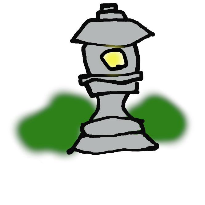 【石灯籠】石でつくった灯籠。社寺に据えて灯火をともし、また、庭園などに置いて趣を添える。用途によって種類が多く、春日(かすが)・雪見・遠州・織部などがある。