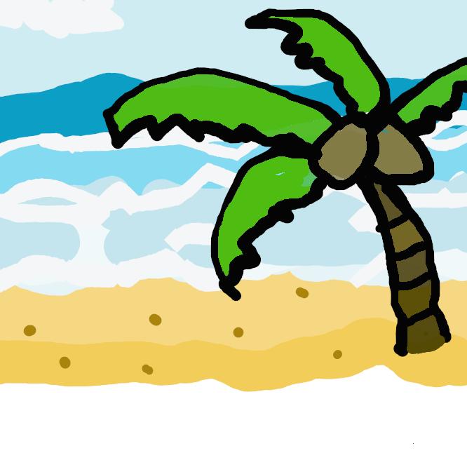【浜辺】浜の水際。また、浜。海辺。