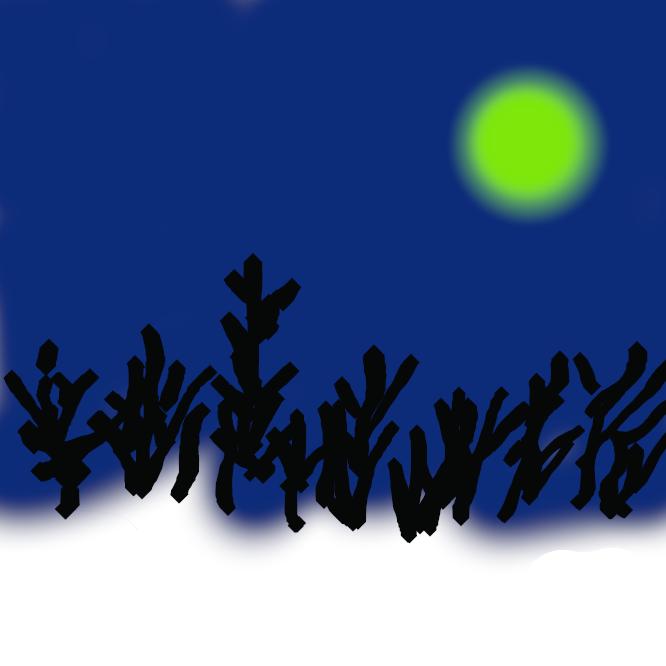 【朧月】霧や靄(もや)などに包まれて、柔らかくほのかにかすんで見える春の夜の月。