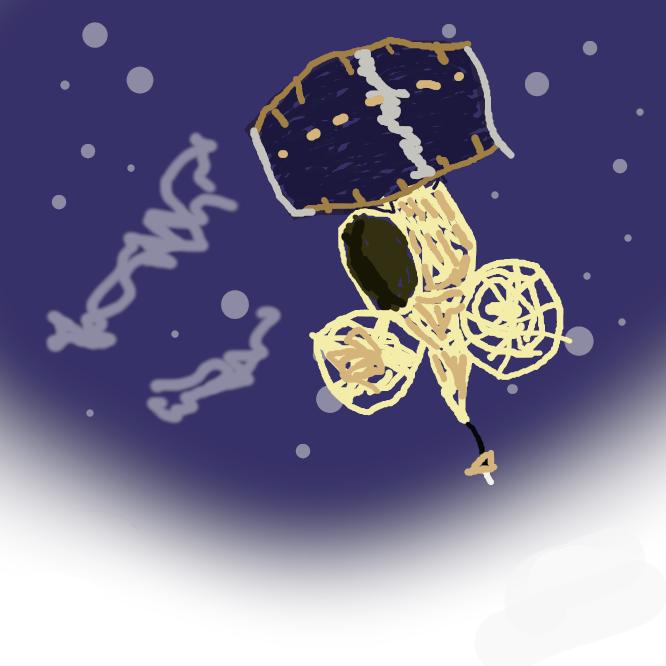 【気象衛星ひまわり】気象観測を行う日本の静止衛星・気象衛星の愛称である。1号から5号までの正式名称は静止気象衛星GMS、6号と7号は運輸多目的衛星MTSATである。