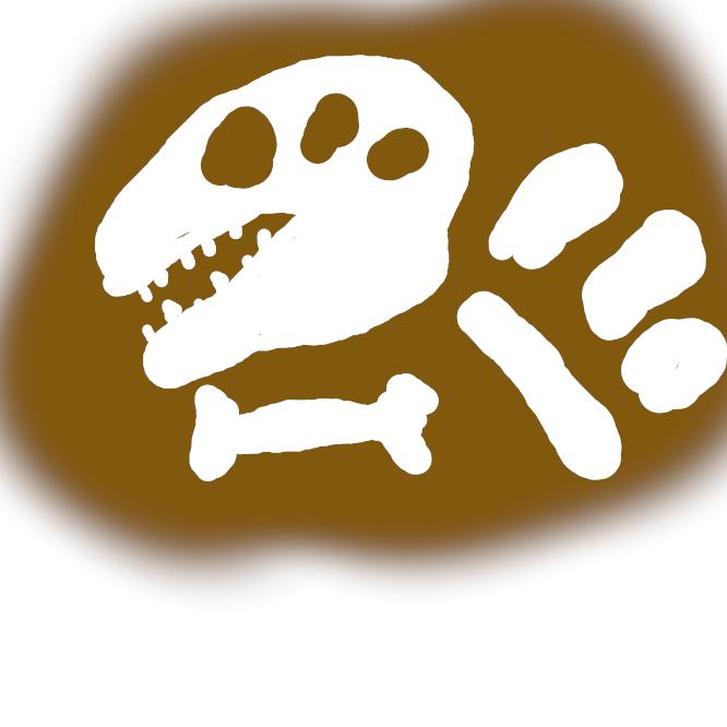 【化石】地質時代の生物の遺骸が地層中に保存されたもの。巣穴・足跡などの生痕(せいこん)も含まれる。埋没している間に石化して固くなったものも多い。