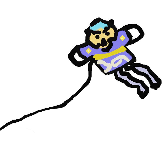 【奴凧】凧の一。奴が両袖を左右に突っ張った姿に作ったもの。