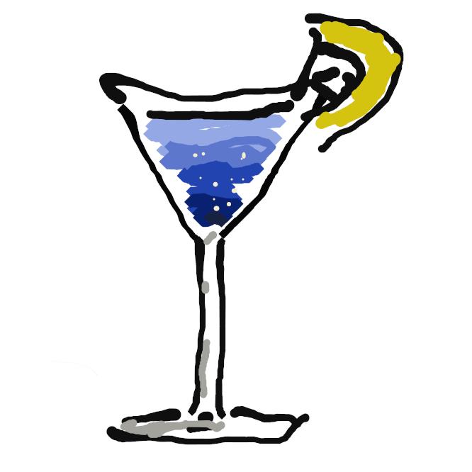 ウイスキー・ブランデー・ジンなどの洋酒に、果汁・ビターズ・シロップ・香料などを加え、氷を入れて混ぜた飲み物。混合酒。
