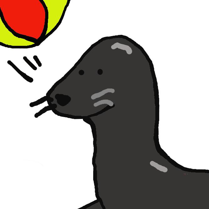 【海驢】アシカ科の海獣。オットセイに似るが、やや大形で体長約2メートル、暗褐色。太平洋に分布。近縁のアザラシとは異なり、陸上では四肢で体を支えて歩行する。うみおそ。うみうそ。みち。