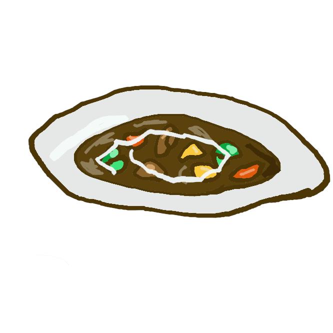 牛肉・タマネギ・ニンジンなどをブラウンソースで長時間煮込んだ料理。