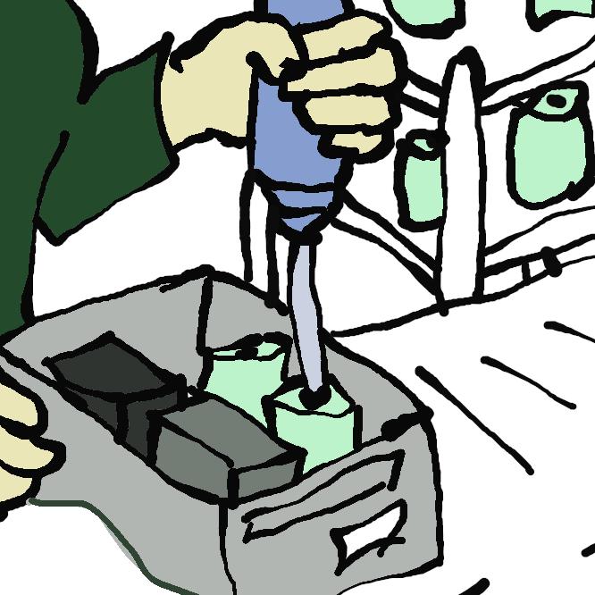 個々の材料・部品などを組み合わせて、一つのまとまった物を作り上げる。