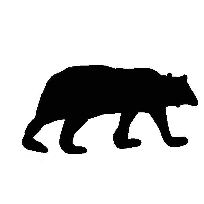 【熊】くま科の食肉獣の総称。