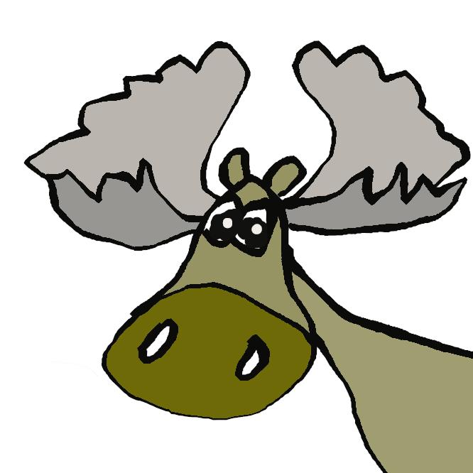 【篦鹿】シカ科の哺乳類。シカ類中最大で、肩高2メートルを超える。角は平たく手のひら状に広がり、上唇がラクダのように垂れている。ユーラシアおよび北アメリカ大陸の北部に分布し、中国では駝鹿(だじか)とよばれ、時にシフゾウと混同される。ヨーロッパではエルク、アメリカではムースとよばれる。おおじか。