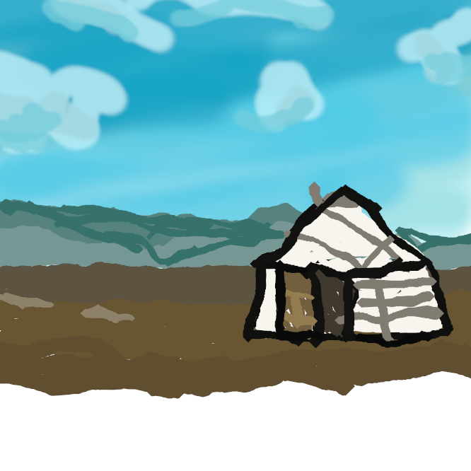 モンゴルなどの遊牧民が用いる饅頭形をした組み立て式の家屋。骨組みを木で作り、その上をフェルトで覆う。中国語では「パオ」という。