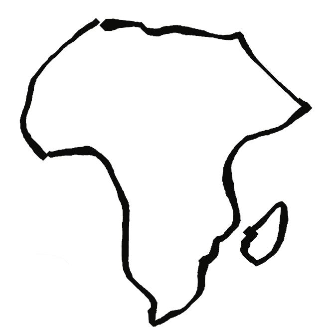 【アフリカ大陸】一大大陸であるアフロ・ユーラシア大陸のうち、スエズ地峡で隔てられたユーラシア大陸を除いた部分を指す。