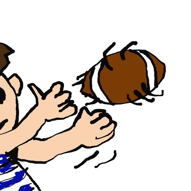 球技で、ボールを味方に渡すこと。送球。