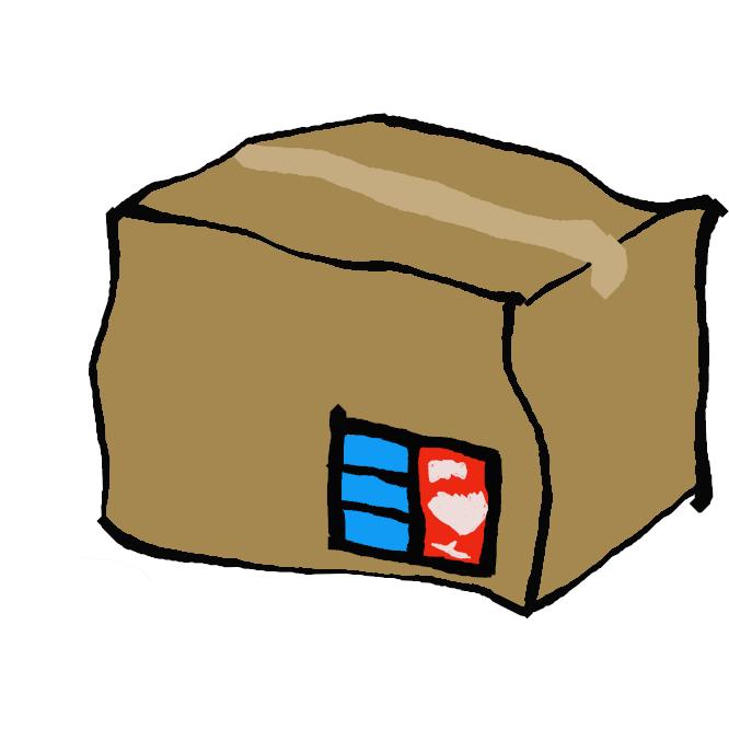 【荷物】運搬・運送する品物。