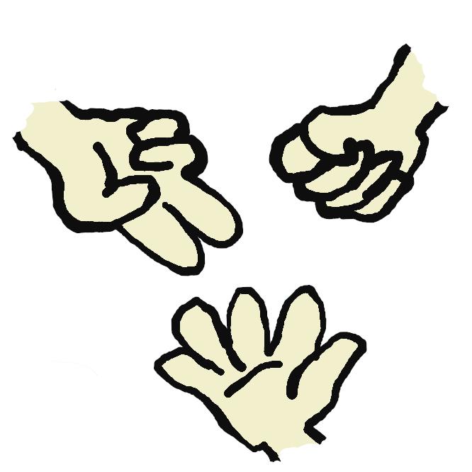 片手で、石(ぐう)・紙(ぱあ)・はさみ(ちょき)のいずれかの形を同時に出し合って勝負を決めること。また、その遊び。石ははさみに、はさみは紙に、紙は石に勝つ。石拳(いしけん)。じゃんけんぽん。
