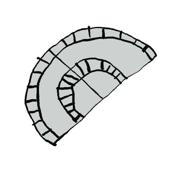 【分度器】角度を測定するための器具。円形・半円形の薄い板に角度目盛りをつけたもの。