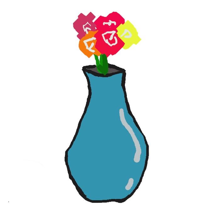 【花瓶】花を生ける、壺形や筒形をした容器。陶磁器・金属製・ガラス製などのものがある。