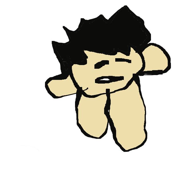 鎮痛消炎剤「サロンパス」の新CMに登場する公式キャラクターの「はるお」の子供が描いた絵に登場する人物のこと。