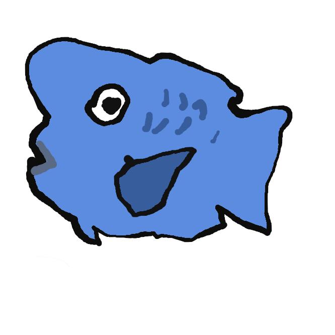 【青武鯛:Scarus ovifrons】昼行性で岩礁域やサンゴ礁を単独または小さな群れで遊泳している。夜は粘液でマユをつくり岩陰で眠る。小型の藻類を主に食べる。眼の前上部が前に向かって コブのように突き出る。幼魚は尾びれに白い班点をもつ。雄には生来の雄(1次雄)と雌から性転換した雄(2次雄)がいる。