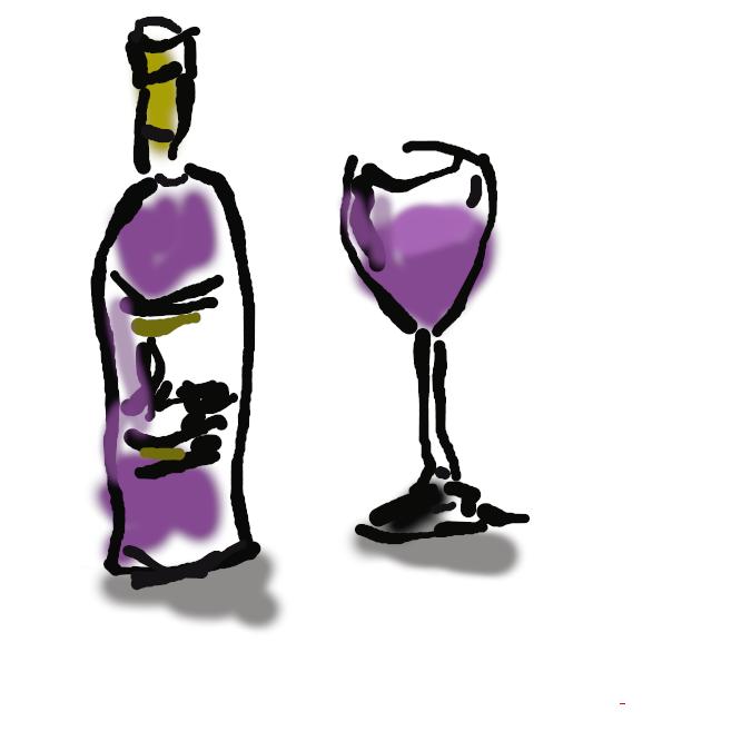 【wine】ブドウの実をつぶしたもの、または果汁をアルコール発酵させてつくった醸造酒。赤・白・ロゼ(薄紅)に分けられる。