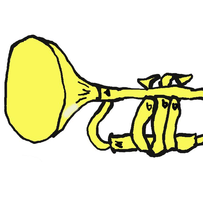 【喇叭】金管楽器の総称であるが、特に軍隊で用いられるものは軍用ラッパと称する。語源はサンスクリット語のrappaで、角笛などの擬声音が転じたという。日本へは幕末に洋式軍隊教練とともに輸入され、旧陸軍では、兵舎での起床、消灯、戦場での突撃などに用いられた。