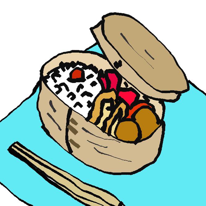 【曲げわっぱ】スギやヒノキなどの薄板を曲げて作られる円筒形の木製の箱のこと。曲物であり、本体とふたで一組になる。主に米びつや、弁当箱として使われる事が多い。