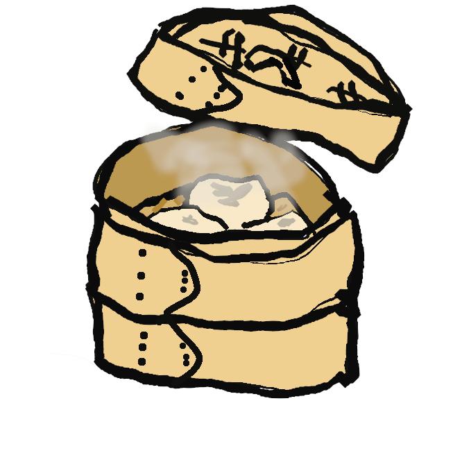 【蒸し器】食べ物を蒸すための道具。蒸籠(せいろう)・御飯蒸しや蒸し鍋など。