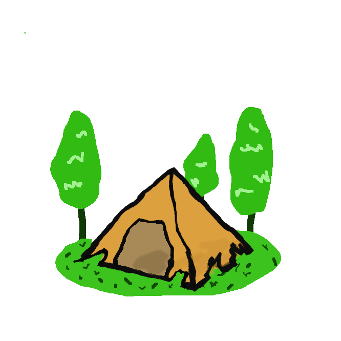 支柱および布製の覆いを組み立ててつくった簡易な家屋。野営のときに用いる小型のもの、サーカスや芝居の掛け小屋として用いる大型のものなどいろいろある。