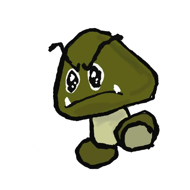 任天堂が発売したコンピュータゲームソフトのシリーズ、マリオシリーズに登場する架空のキャラクター。亀のノコノコと並ぶ敵キャラクター。