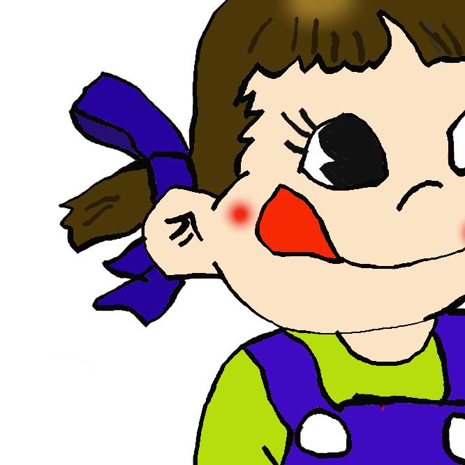 不二家のマスコットキャラクターである。当初は1950年に発売された同社の菓子「ミルキー」の商品キャラクターとして誕生したが、後に同社全体のマスコットとなった。