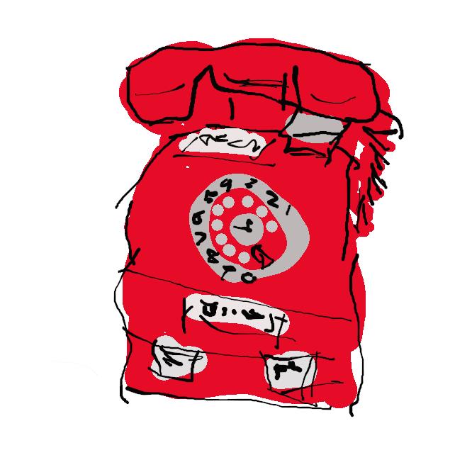 【赤電話】主に店頭などに設置されていた電話の通称。また一般に、公衆電話。かつて、電電公社・NTTが設置した委託公衆電話が赤色だったことからの名。平成7年(1995)に廃止。