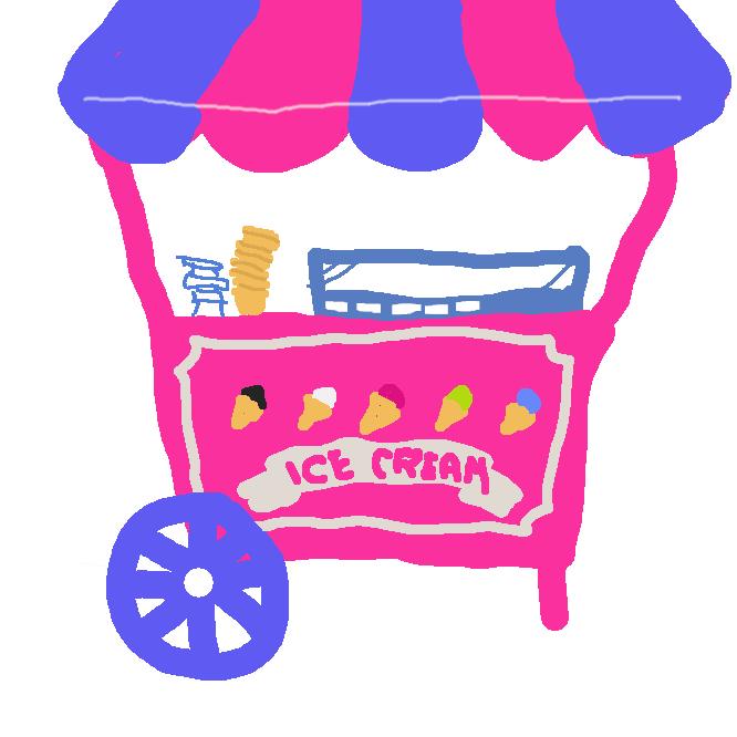 アイスクリーム、ジェラート、シャーベット、フローズンヨーグルトを消費者に販売する場所です。