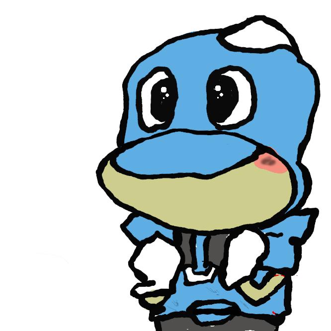 Jリーグ・川崎フロンターレのマスコット。キャラクターデザインの発表に際し行われた愛称の一般公募を行い決定した。本項目では2008年に登場したアニメキャラクターのフロンタとその家族等についても扱う。