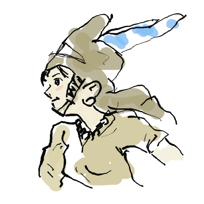 宮崎駿原作のマンガおよびアニメ作品「風の谷のナウシカ」に登場する主人公の少女。