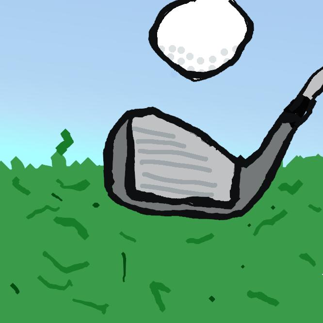 ゴルフで、傾斜面から打つこともあるという点でドライバーとは異なるがダフったりトップしたりせずにクラブのスウィートスポットにボールを当てることが極めて重要でその意味での正確さを重視すべきショットである。