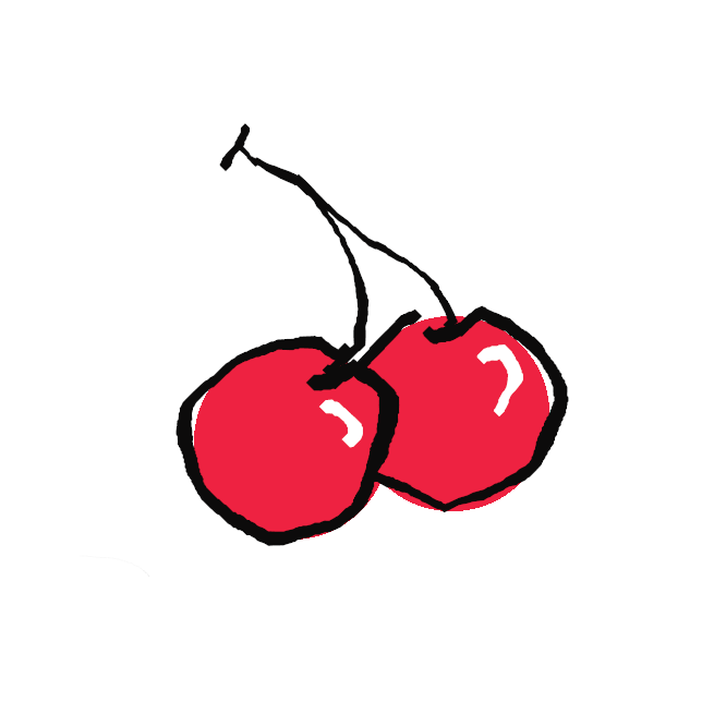 【桜桃】桜の果実の総称。特にセイヨウミザクラの実をいい、6月ごろ紅色・黄色に熟したものを食用とするほか、缶詰・ジャムなどにする。おうとう。