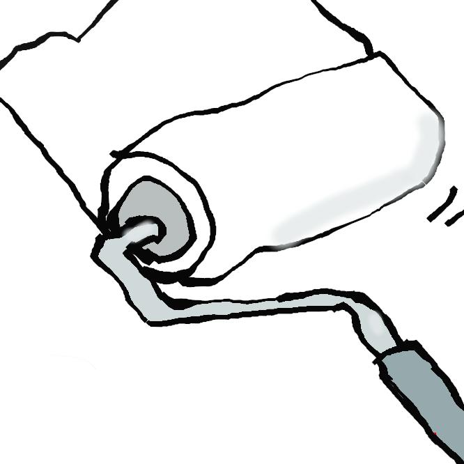 ニトムズが製造販売している粘着カーペットクリーナーの商品名。「コロコロ」はニトムズの登録商標である。